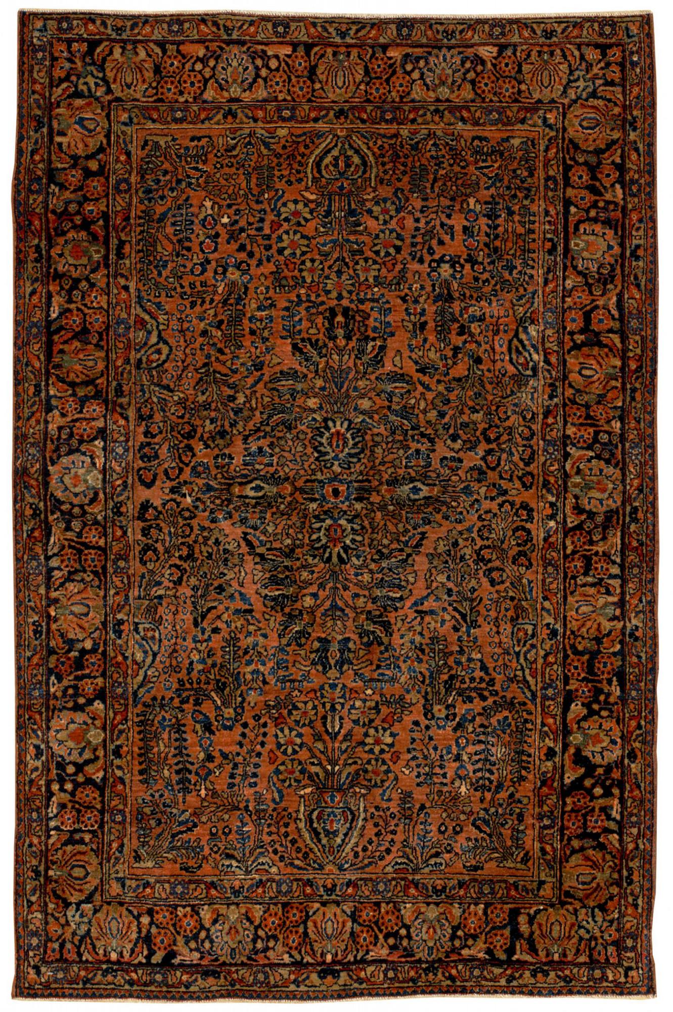 Persian Sarouk Rectangle 4x6