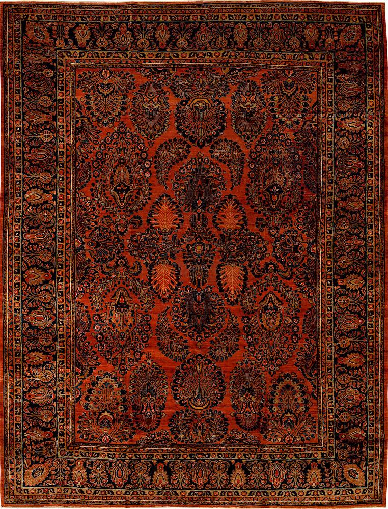 Persian Sarouk 8x11