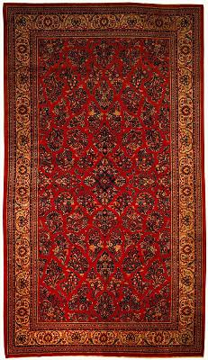 Persian Sarouk Rectangle 8x15