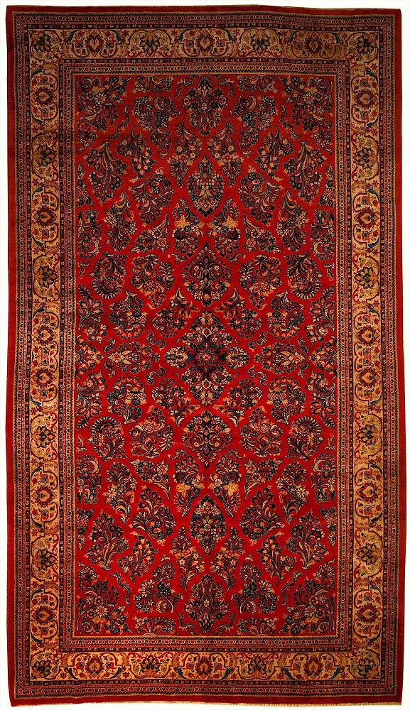 Persian Sarouk 8x15