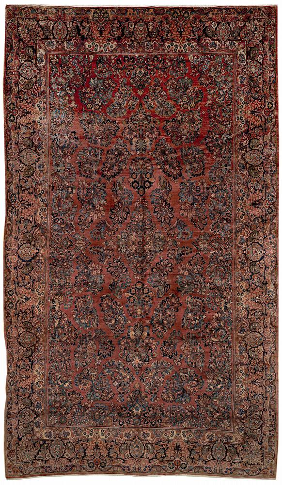 Persian Sarouk 9x15