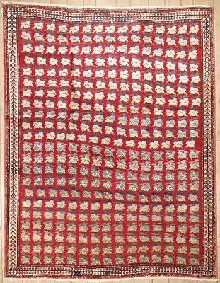 Persian Seneh Rectangle 8x11