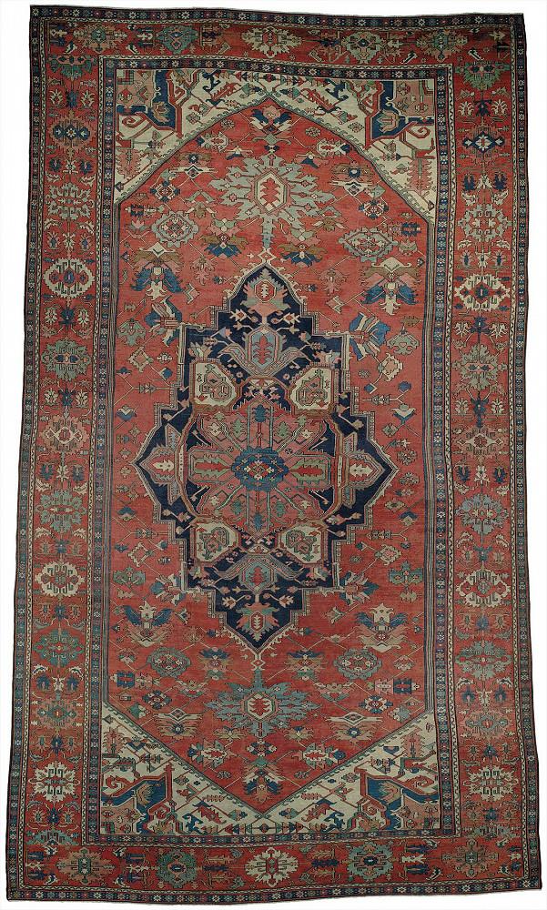 Persian Serapi 10x19