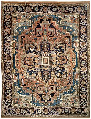 Persian Serapi Rectangle 11x15