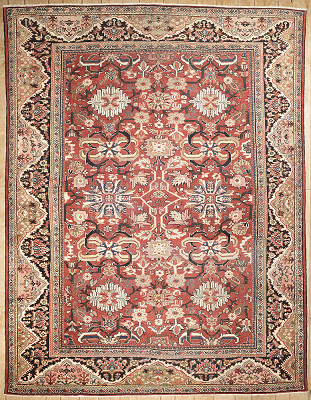 Persian Sultanabad Rectangle 10x13
