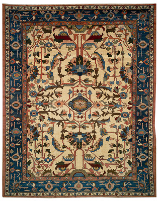 Persian Sultanabad Rectangle 13x17