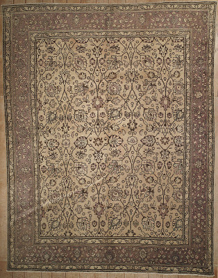 Persian Tabriz Rectangle 10x12