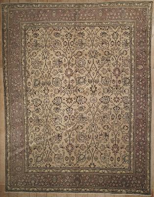 Persian Tabriz Rectangle 10x12