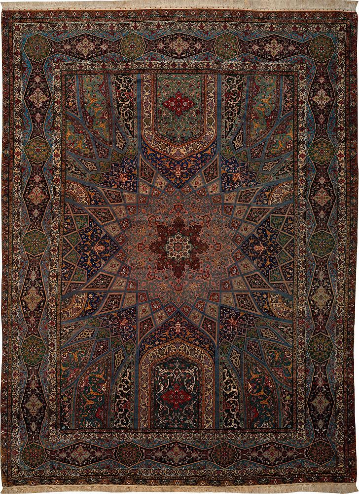 Persian Tabriz 10x13