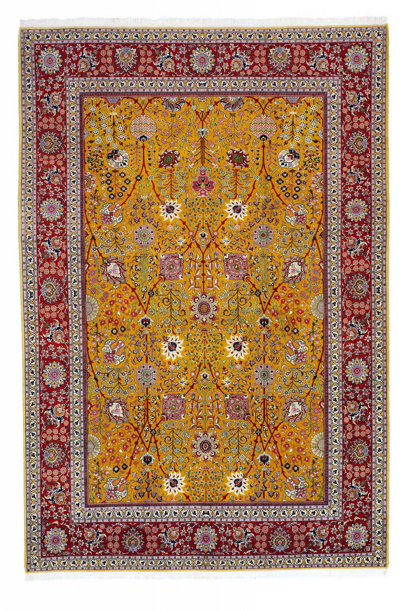 Persian Tabriz Rectangle 10x15