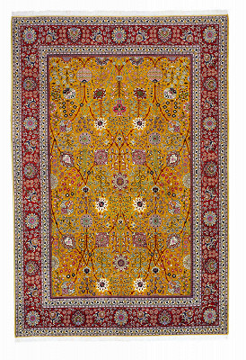 Persian Tabriz Rectangle 10x15