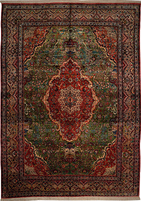 Persian Tabriz Rectangle 11x15