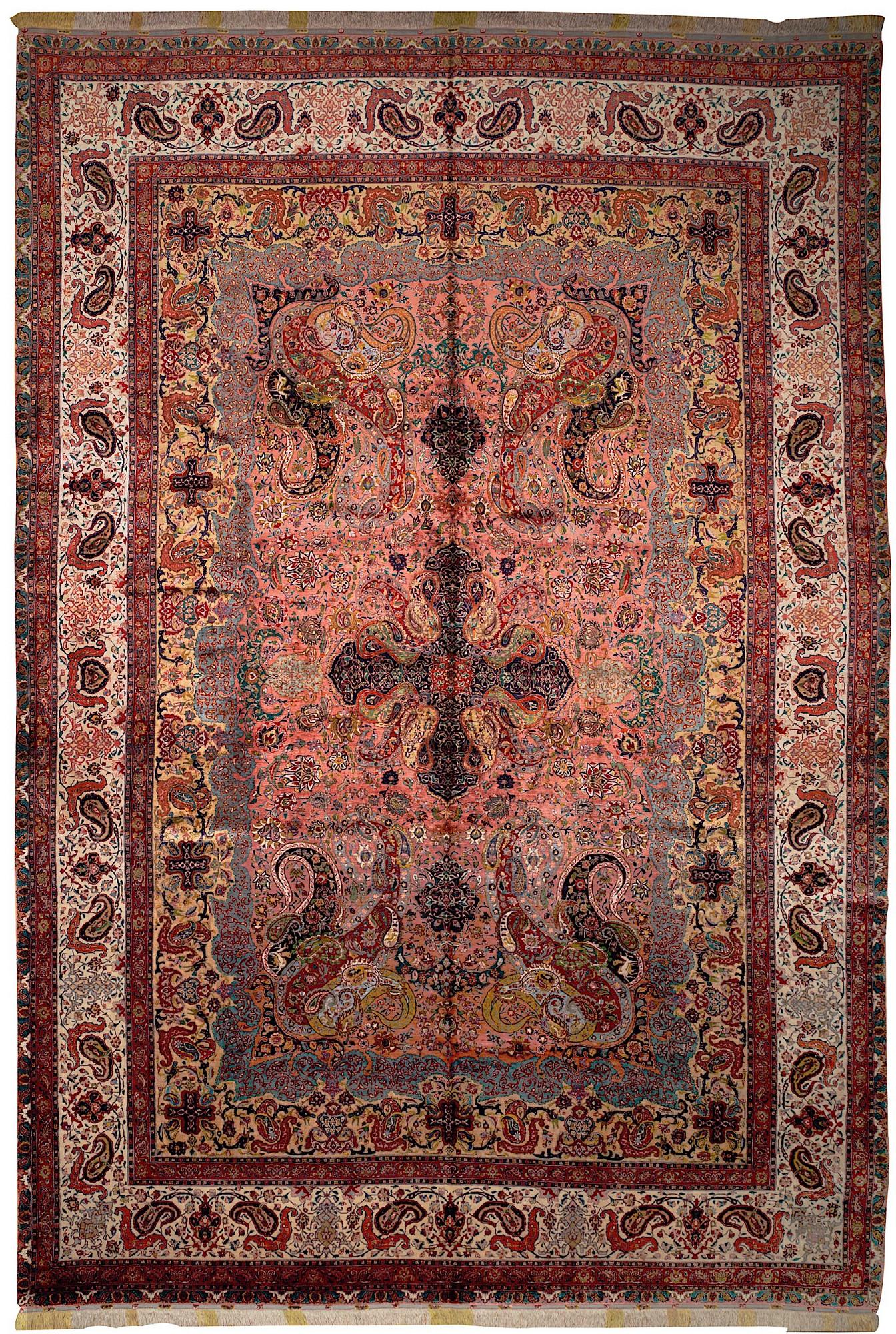 Persian Tabriz 11x16