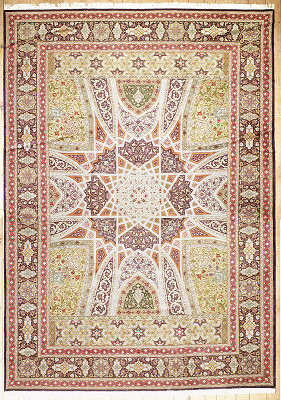 Persian Tabriz Rectangle 11x16