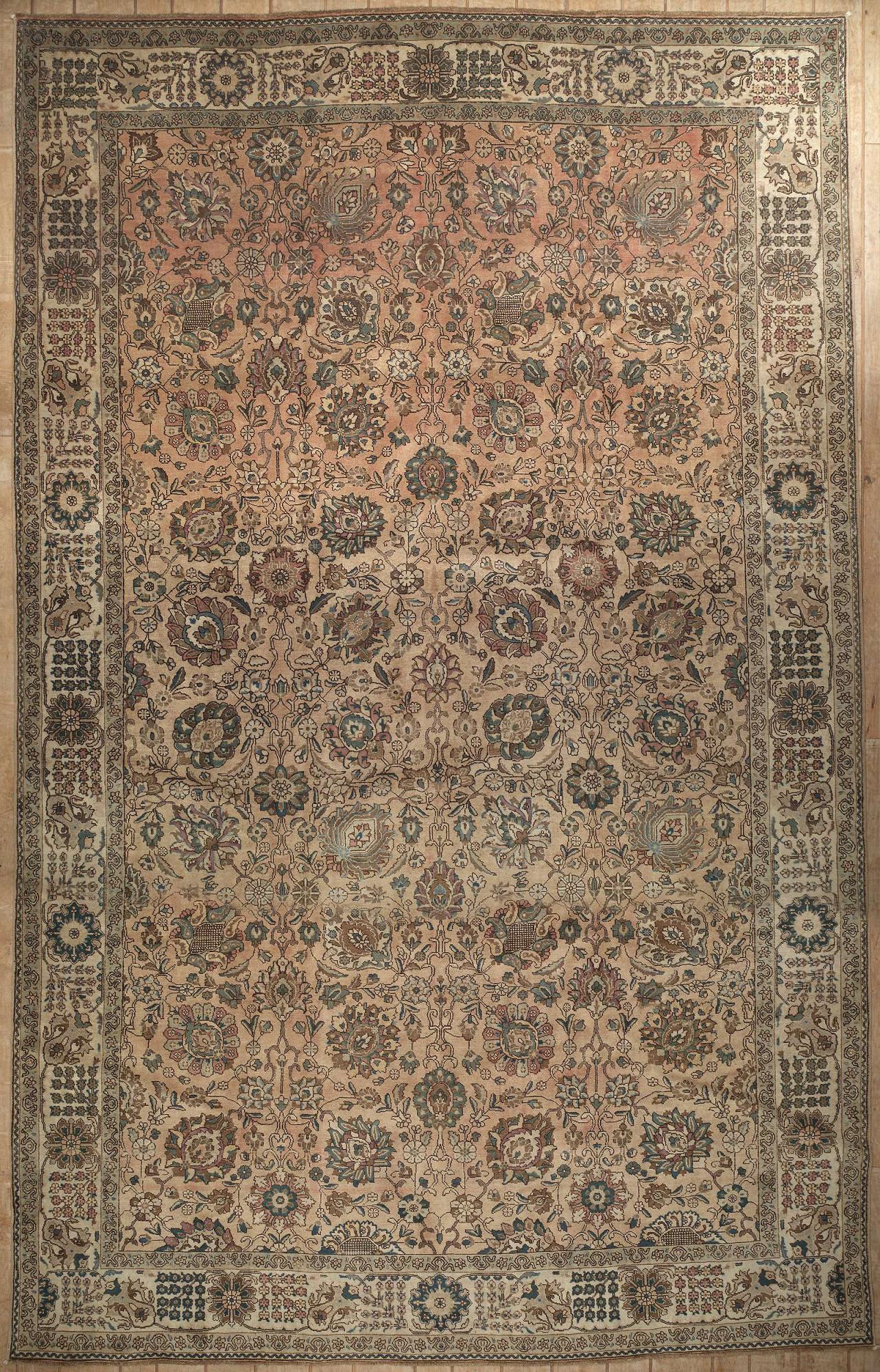 Persian Tabriz Rectangle 11x18
