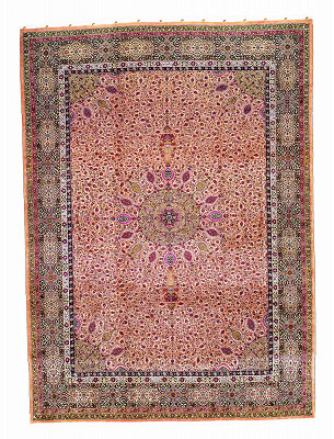 Persian Tabriz Rectangle 13x18