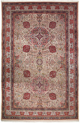 Persian Tabriz Rectangle 13x19