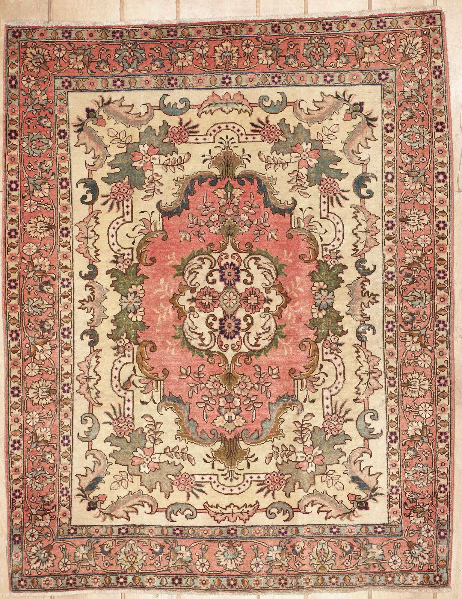 Persian Tabriz Rectangle 4x6