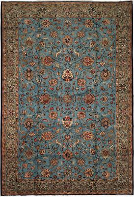 Persian Tabriz Rectangle 7x11