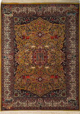Persian Tabriz Rectangle 8x11