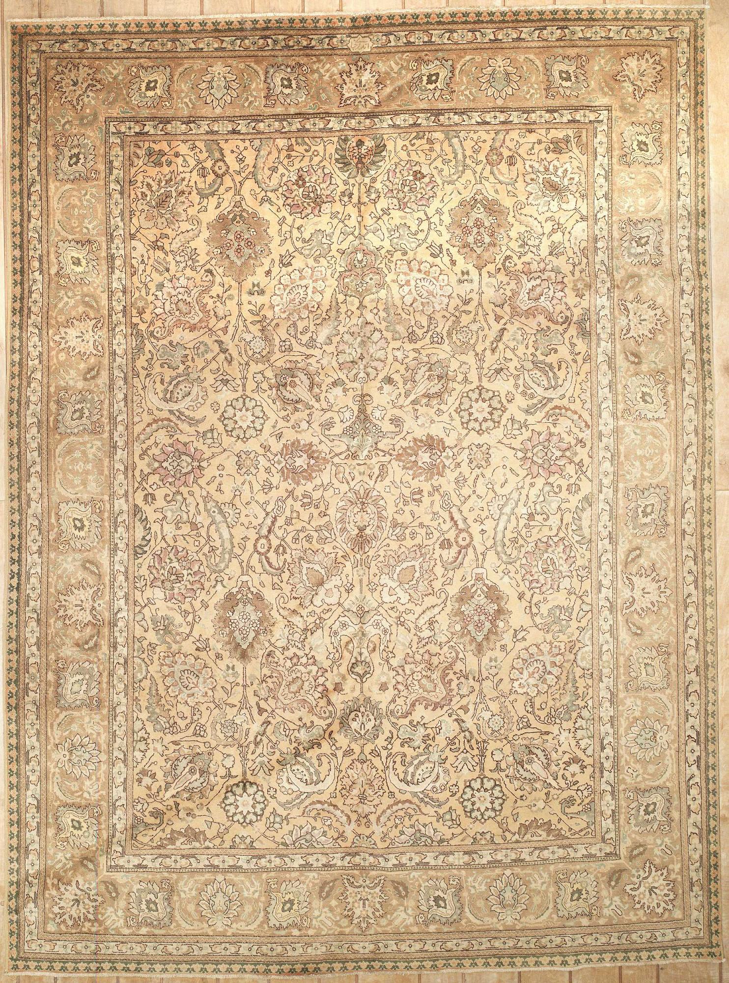 Persian Tabriz Rectangle 9x10