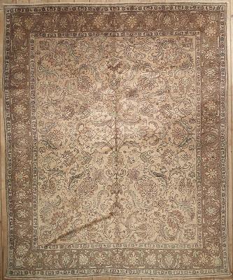 Persian Tabriz Rectangle 9x11
