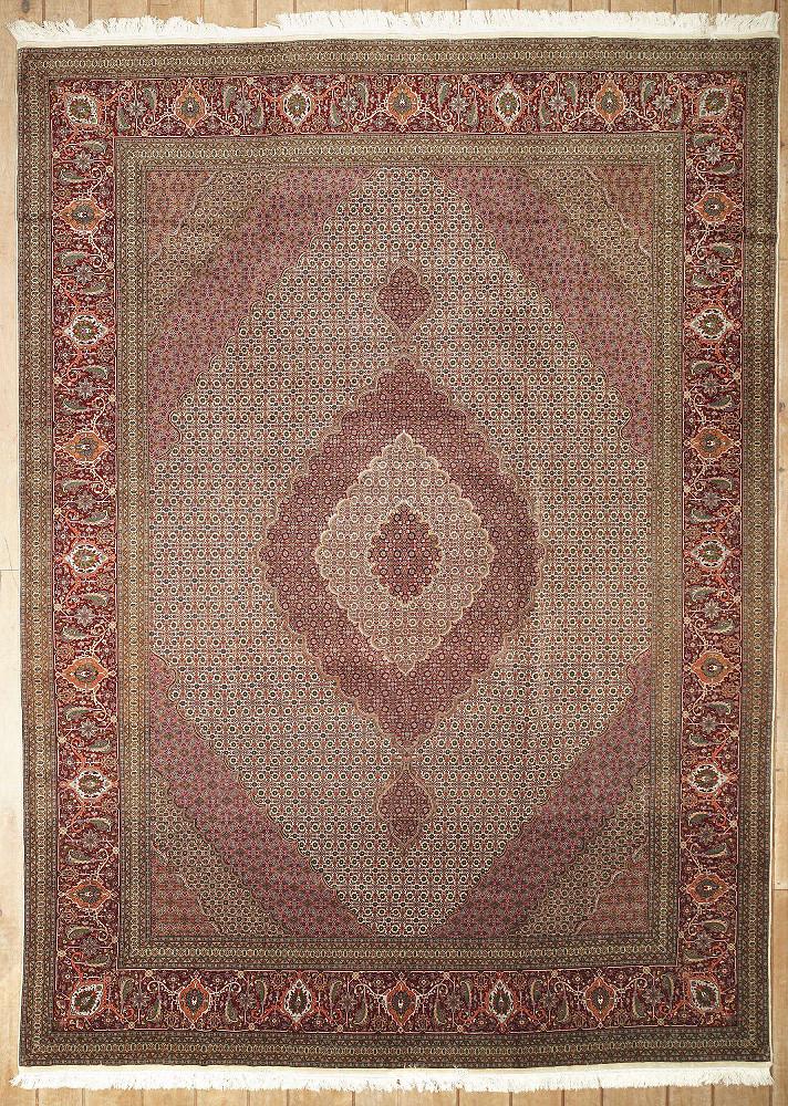 Persian Tabriz 9x13