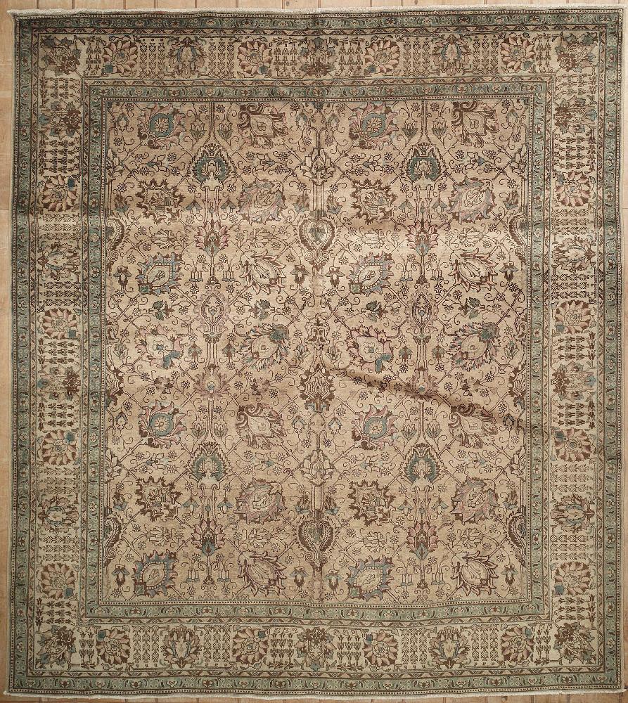 Persian Tabriz Square 9x10