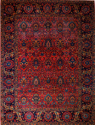 Persian Yazd Rectangle 8x11