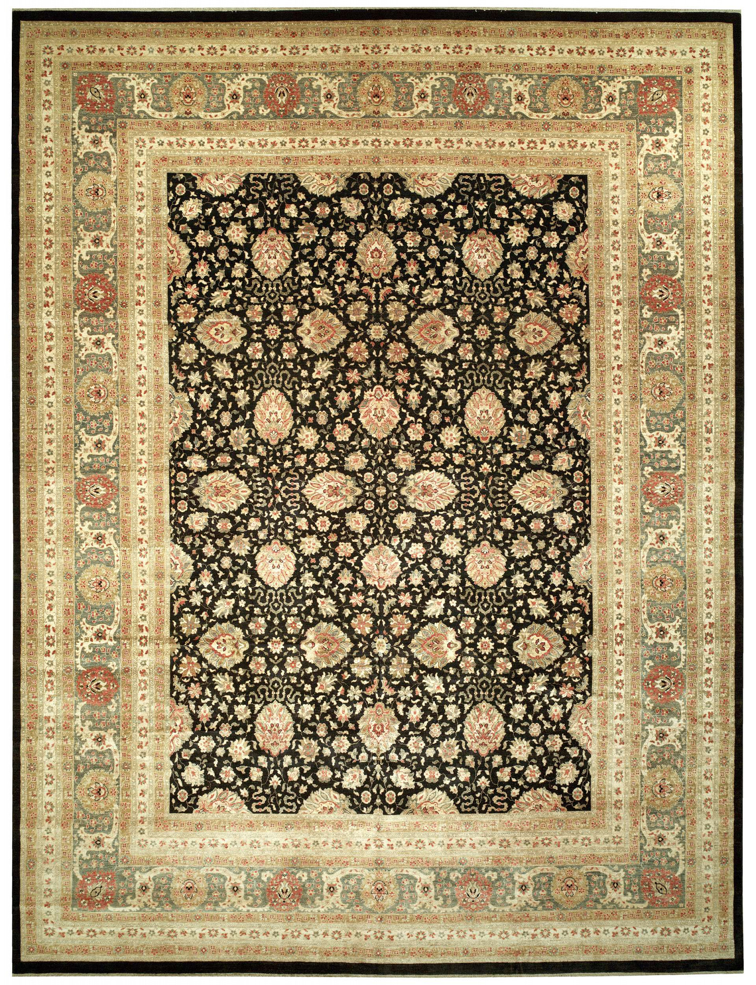 Sultanabad Rectangle 12x16