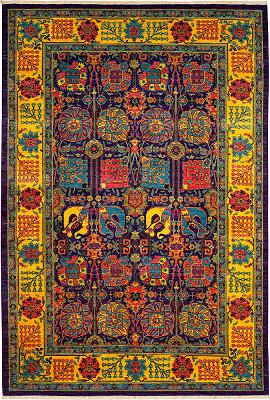 Tabriz Rectangle 5x8