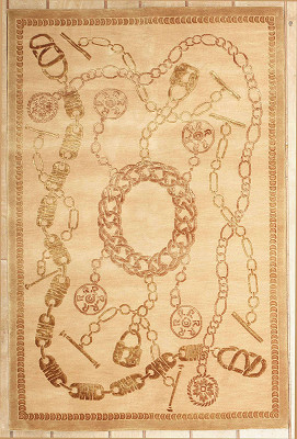 Tibetian Rectangle 4x6