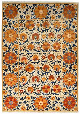 Uzbekistan Rectangle 6x8