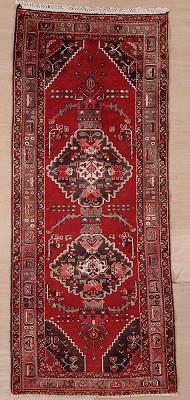 Persian Hamedan Runner 4x9