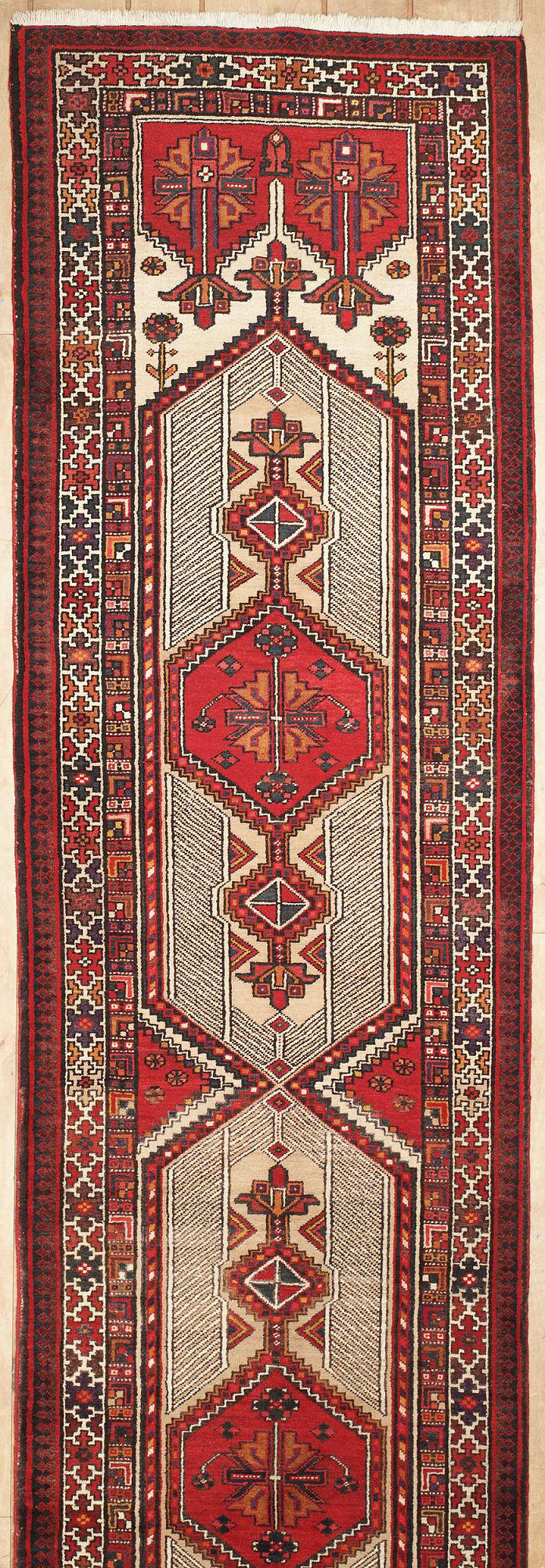 Persian Heriz Runner 3x14