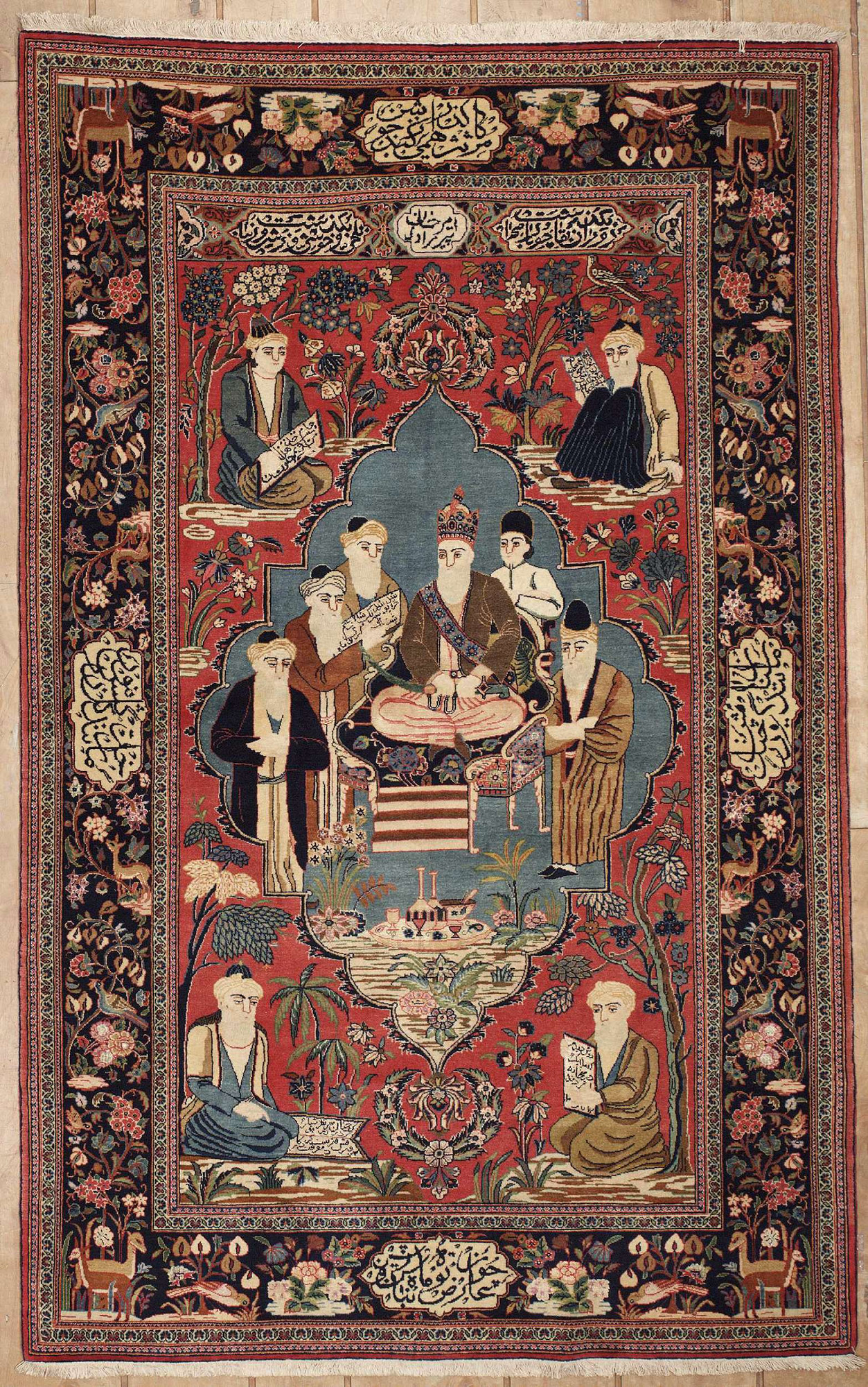 Persian Kashan Rectangle 4x6