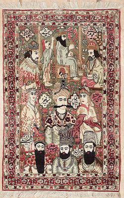 Persian Kerman Rectangle 2x3