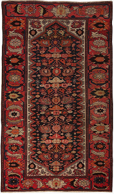 Persian Malayer Rectangle 4x6