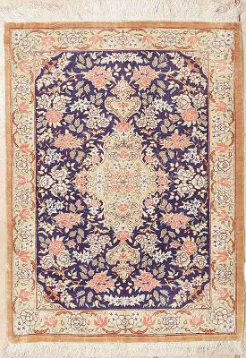 Persian Qum Rectangle 1x2