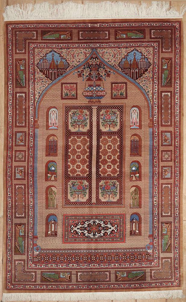 Persian Qum 4x6