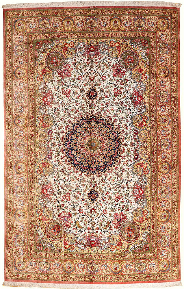 Persian Qum 6x10