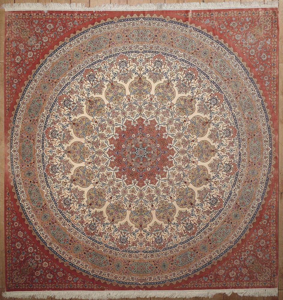 Persian Qum Square 9x10