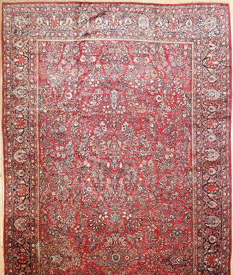 Persian Sarouk Rectangle 10x23