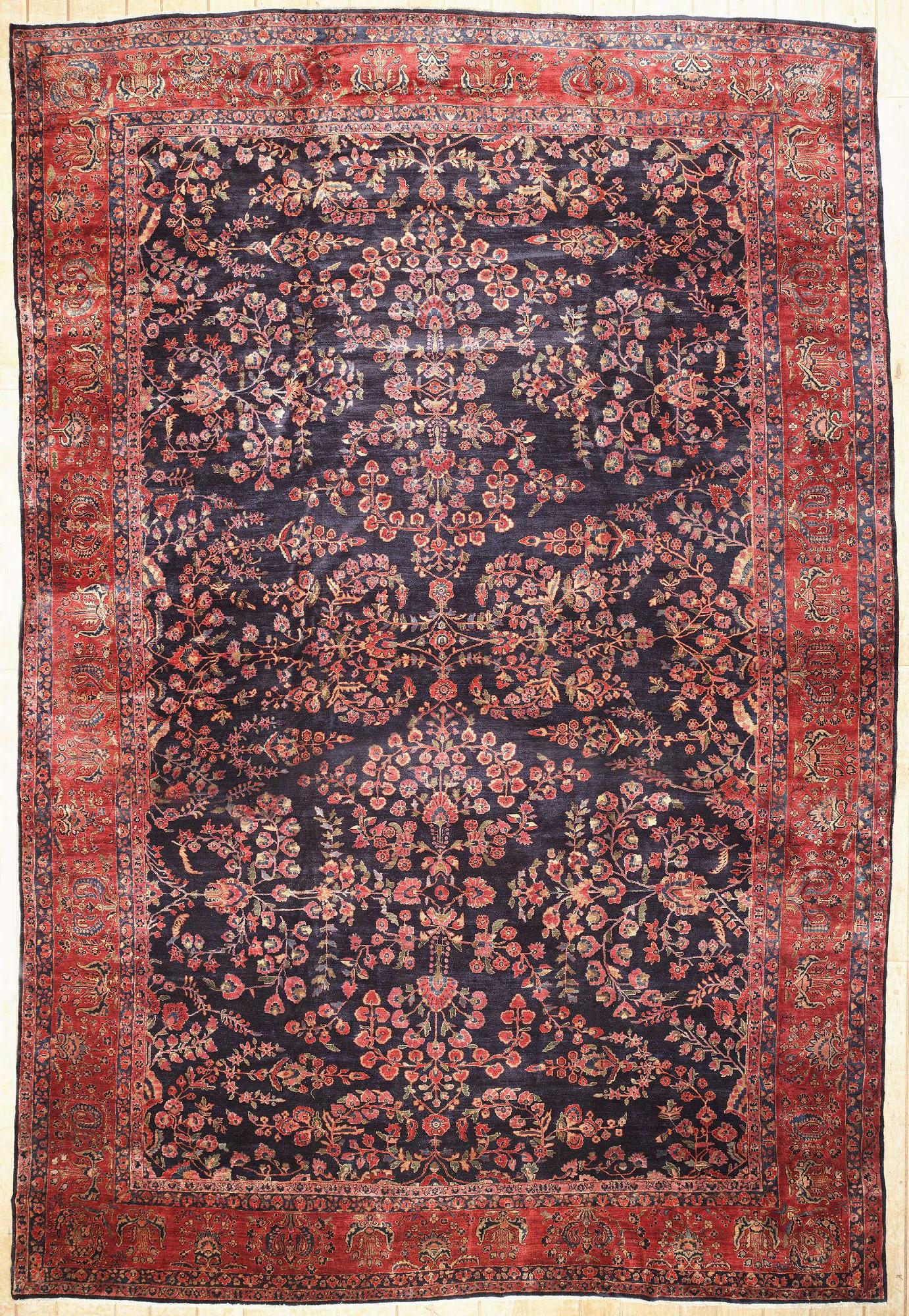 Persian Sarouk Rectangle 12x18