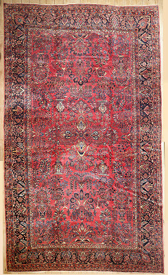 Persian Sarouk Rectangle 12x20