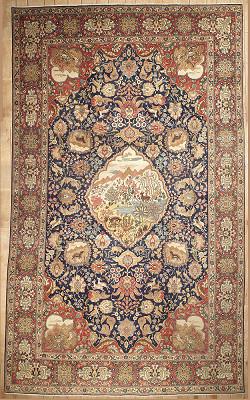 Persian Tabriz Rectangle 11x19