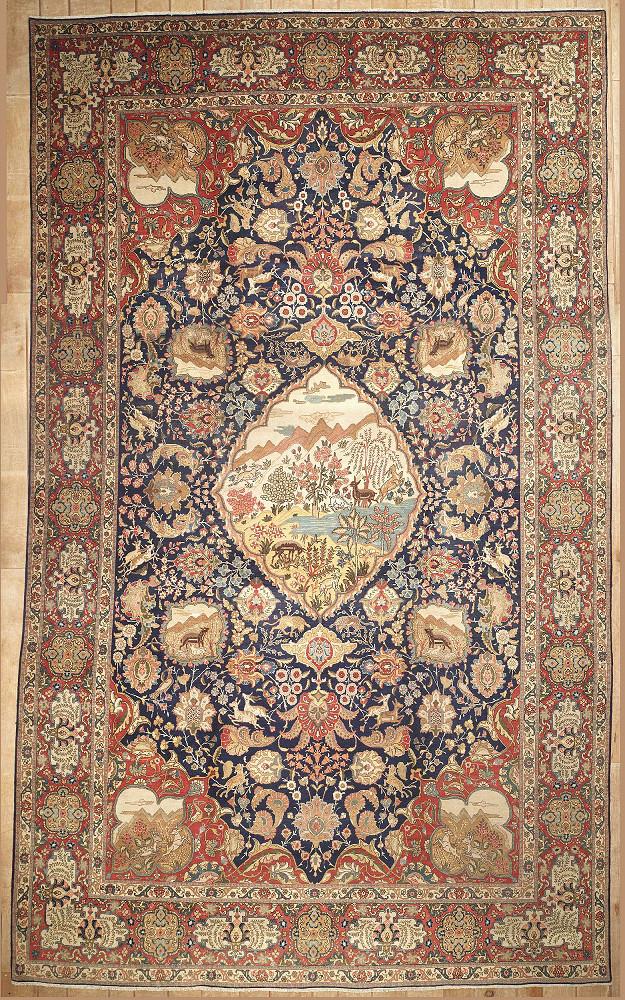 Persian Tabriz 11x19