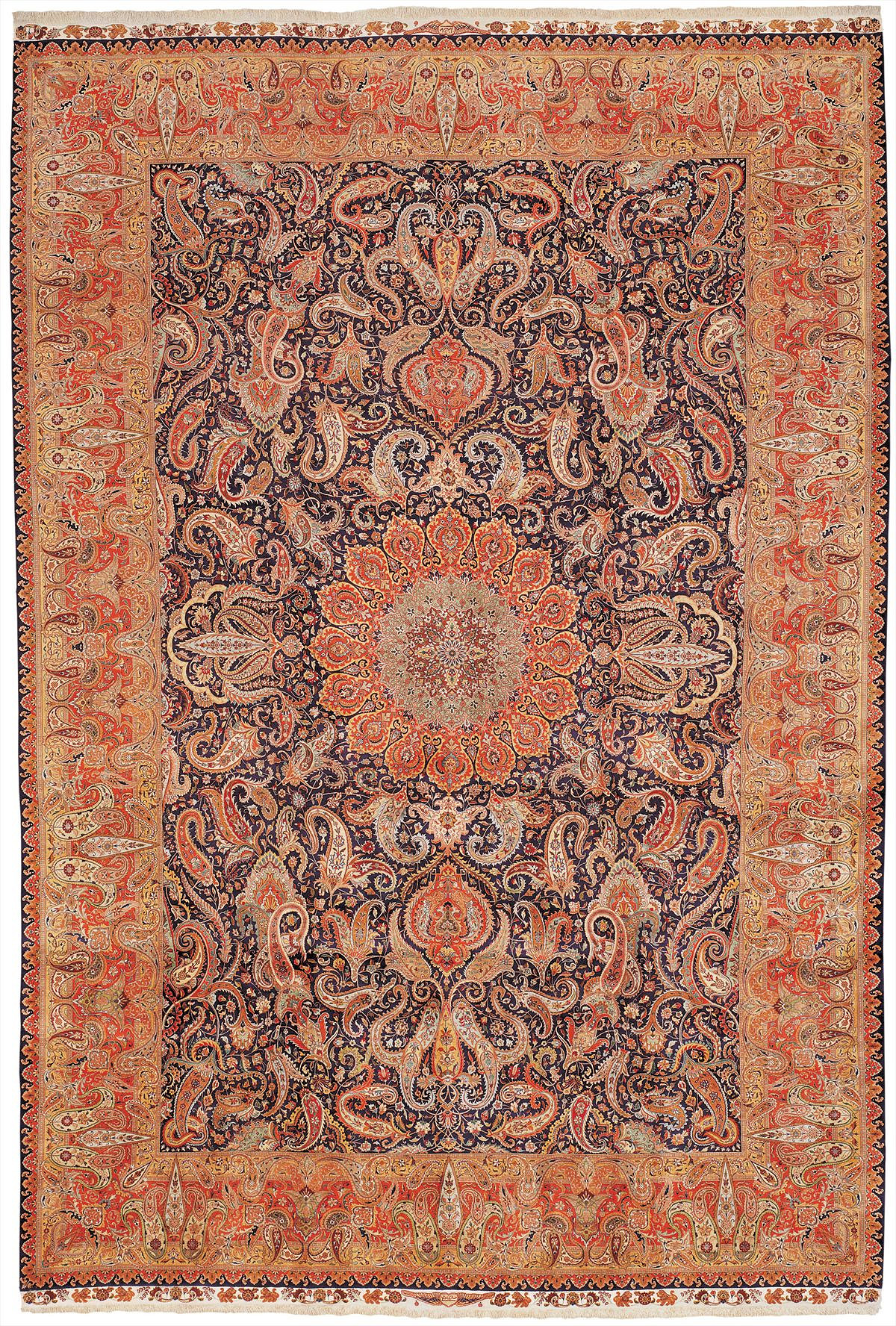 Persian Tabriz Rectangle 13x19