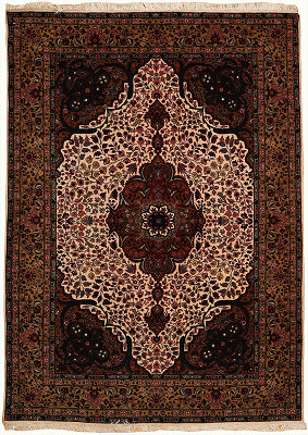 Persian Tabriz Rectangle 4x6
