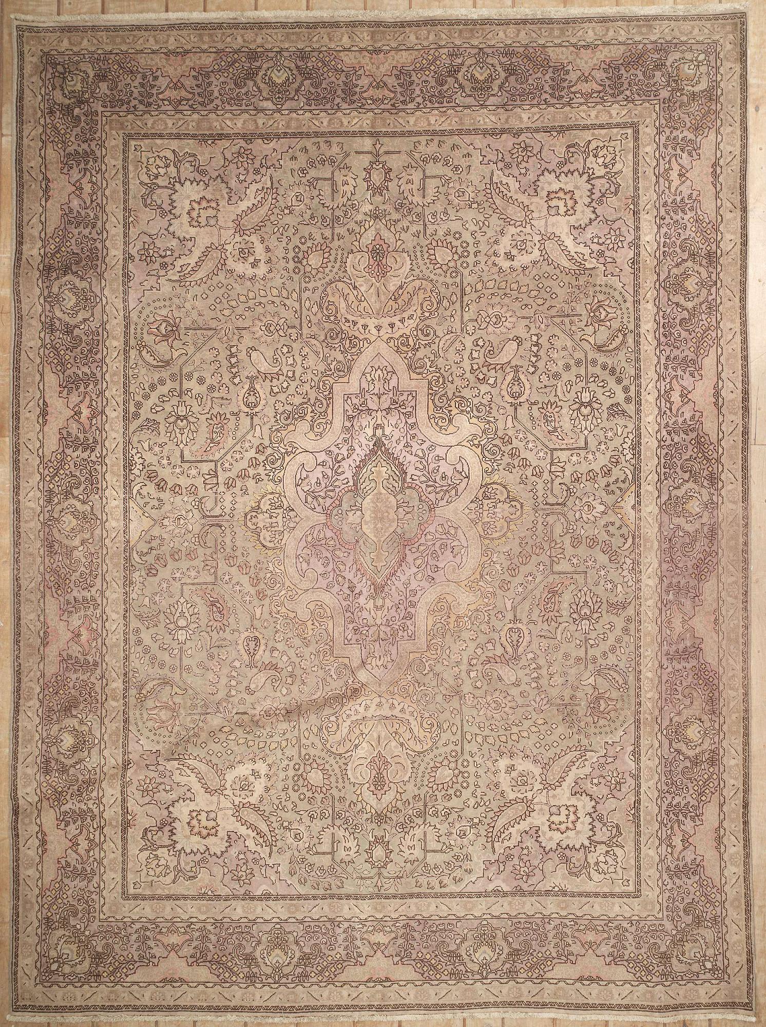 Persian Tabriz Rectangle 9x13
